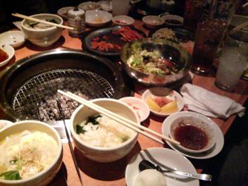 おもに亭/焼き肉/忘年会