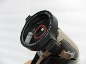 SANYO DMX-HD700にワイドコンバージョンレンズ