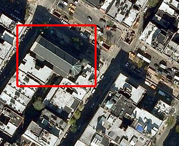 Googleマップの航空写真