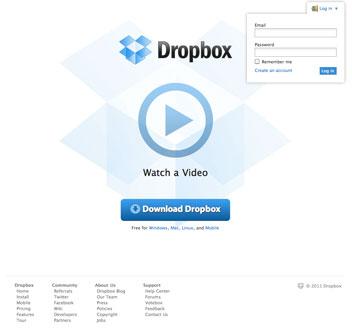 Dropboxを使う