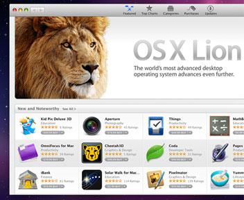 Mac OS X 10.6.8でLionに備える