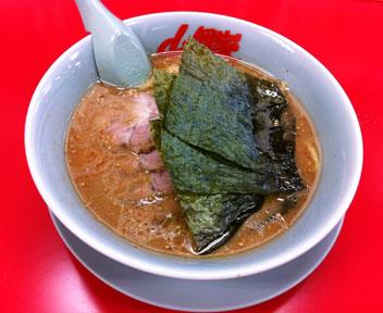 味噌チャーシュー麺/山岡家 千葉鎌ケ谷店