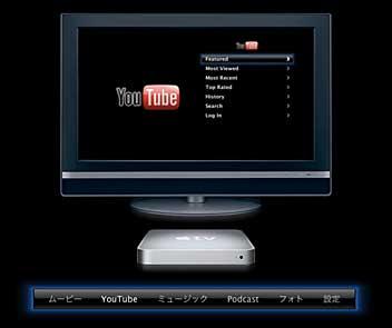 Apple TV + YouTube