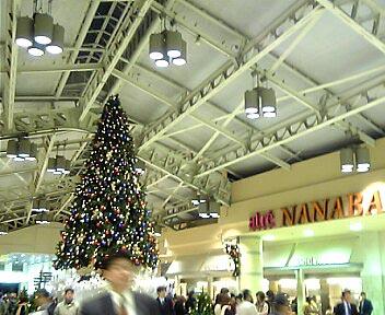 上野のクリスマスツリー