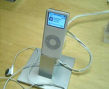 iPod nano/アップルストアー銀座