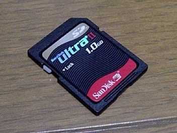 SDメモリーカード 1GB