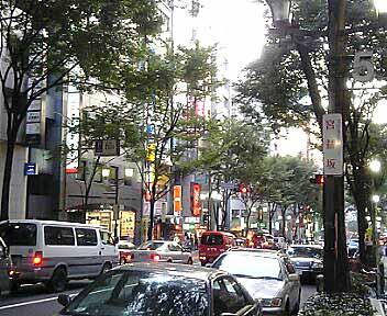 渋谷・宮益坂