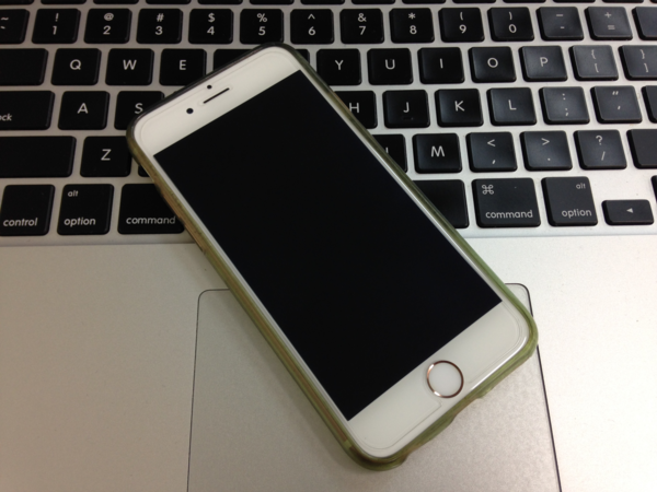 iPhone6sのバッテリー交換(2回目)